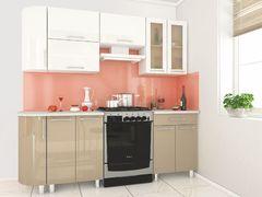 Кухня Танго модульная мокко-белый
